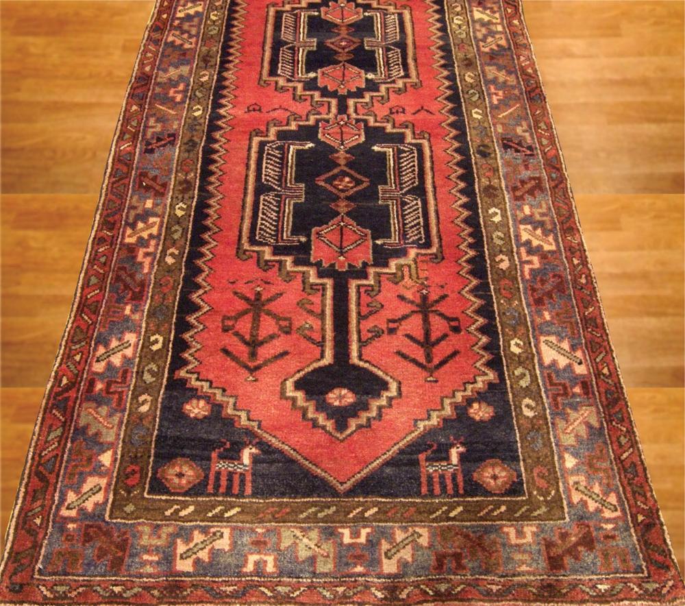 BEAUTIFUL OLD PERSIAN Runner 3x10